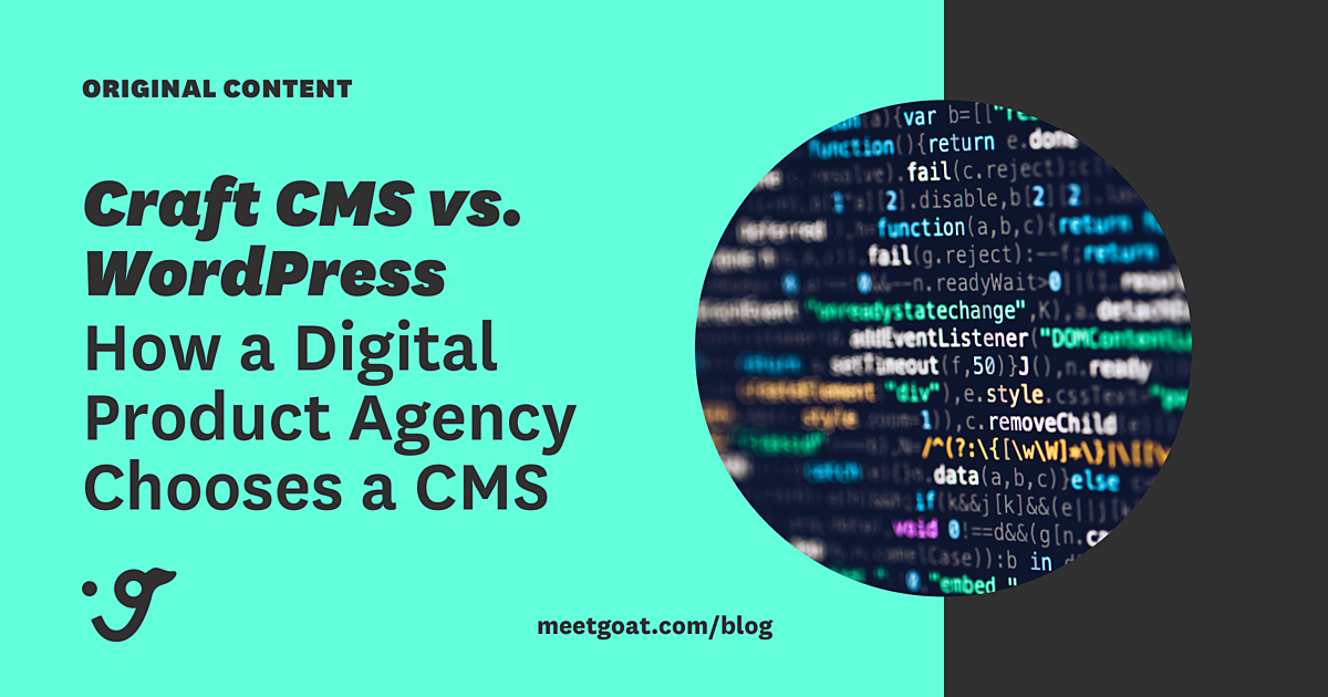 Craft CMS VS Wordpress