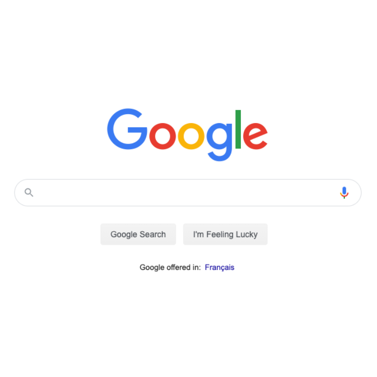 google blank search bar canada